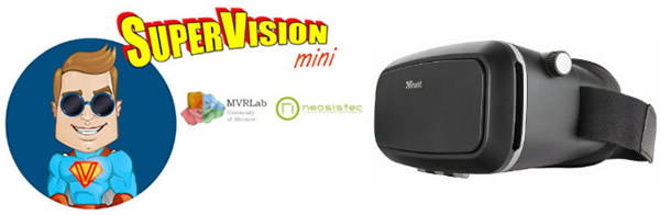 Supervision plus VR glasses