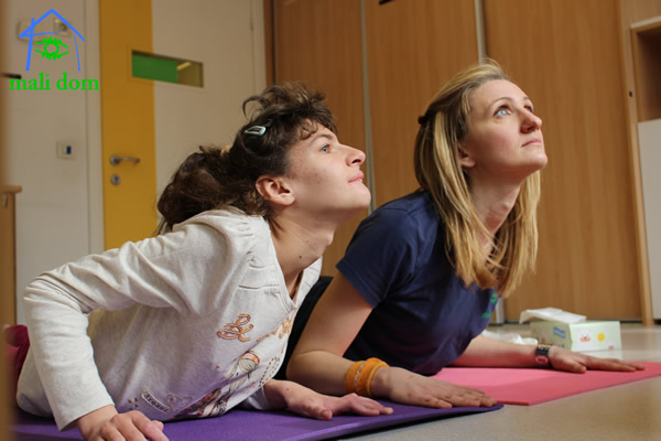 Rehabilitation using yoga elements