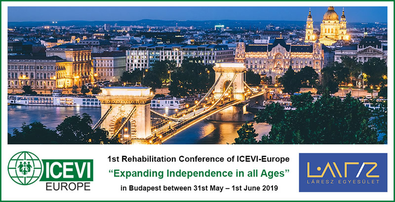 1st Rehabilitation Conference of ICEVI-Europe - Expanding independence in all ages