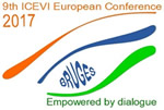 9th ICEVI European conference 2017 logo