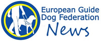 European Guide Dog Federation News logo