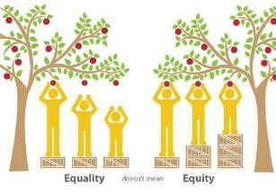 Equality doesn't mean Equity - Inspiration by Claudia Claes