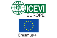 Erasmus Plus and ICEVI-Europe logos